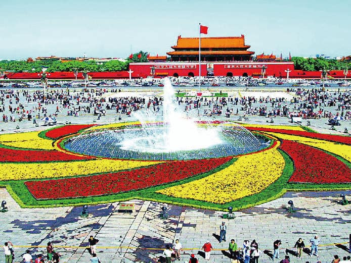 Tiananmen Square Reconstruction Project