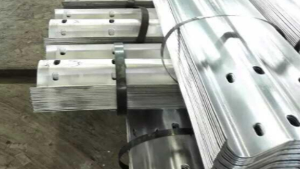 Galvanized Guardrail