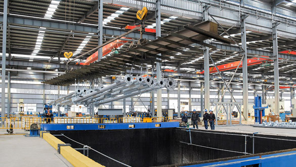 Hot-dip galvanizing line